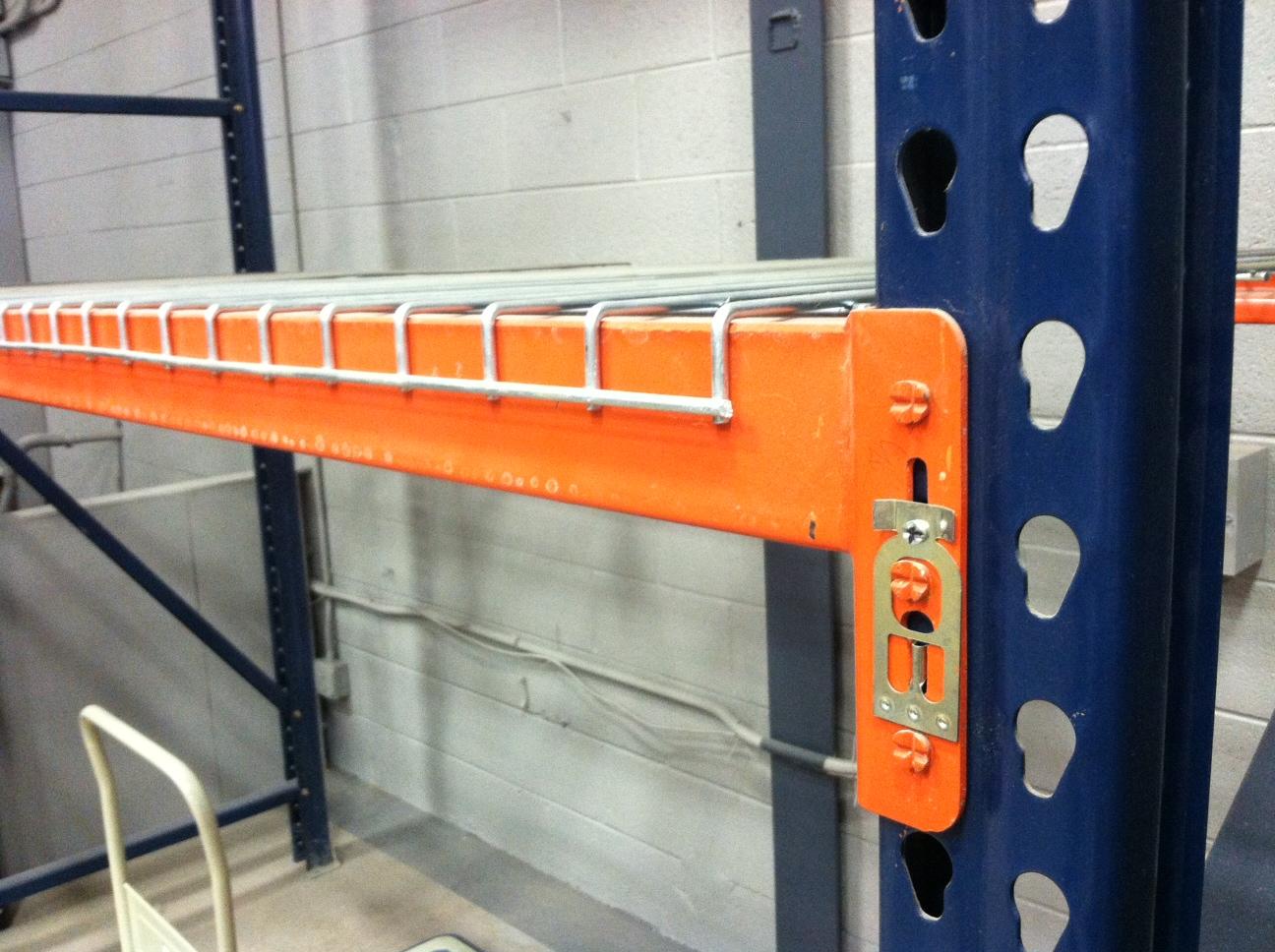 metal rack shelving parts