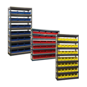 Bin Storage Shelving