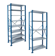 Heavy Duty Open Steel Shelving