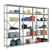 Open Metal Shelving