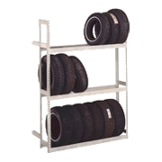 Tire Storage Boltless Shelving
