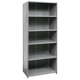 Closed 6 shelf heavy duty starter
