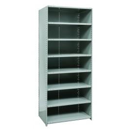 Closed 8 shelf medium duty starter