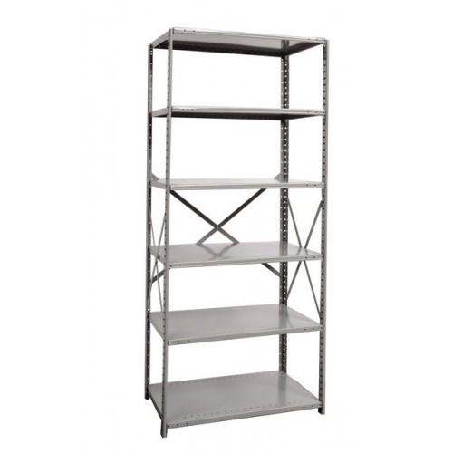 Open Metal Shelving Unit With Shelves Heavy Duty