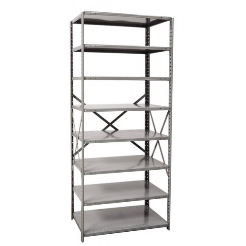 open metal shelving unit with 8 shelves extra heavy duty. Black Bedroom Furniture Sets. Home Design Ideas