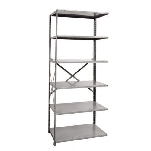 open metal shelving unit with 6 shelves extra heavy duty. Black Bedroom Furniture Sets. Home Design Ideas