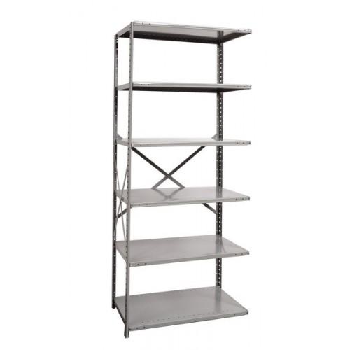 open metal shelving unit with 6 shelves heavy duty. Black Bedroom Furniture Sets. Home Design Ideas