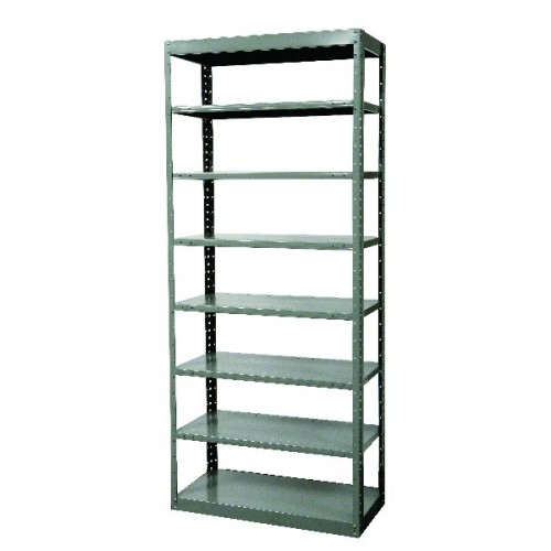 pass through metal shelving 8 shelf. Black Bedroom Furniture Sets. Home Design Ideas