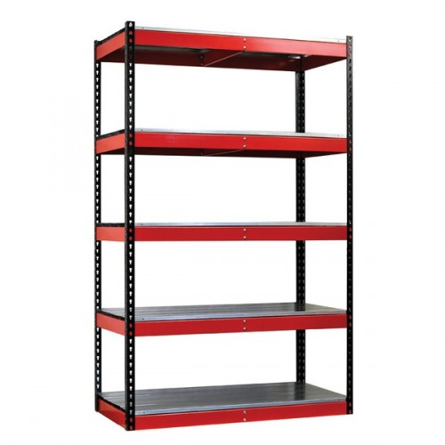 Garage Rivet Shelving With Metal Deck 48 Wide