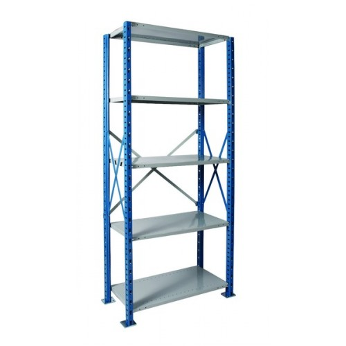 h post open shelving unit heavy duty 5 shelf 36 x 18. Black Bedroom Furniture Sets. Home Design Ideas