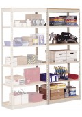 "Single-Rivet Units - Adder -- 7'-0"" High 6-Shelf"