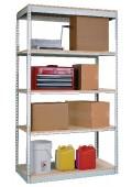 "Single-Rivet Units - Adder -- 7'-0"" High 5-Shelf"