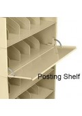 Posting Shelf for Stackable Shelving