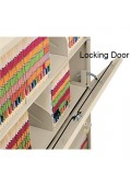 Locking Door for Stackable Shelving