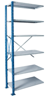 Heavy Duty Closed Steel Shelving
